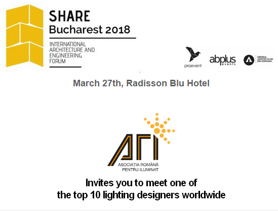 ARI Invites you to meet one of the top 10 lighting designers worldwide