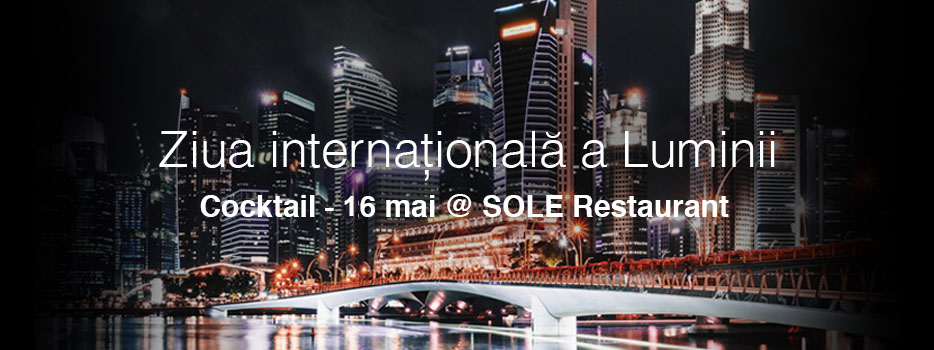 Ziua internationala a luminii 16 mai